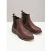 Kožená dámska Chelsea obuv bata, hnedá, 596-3680 - 18