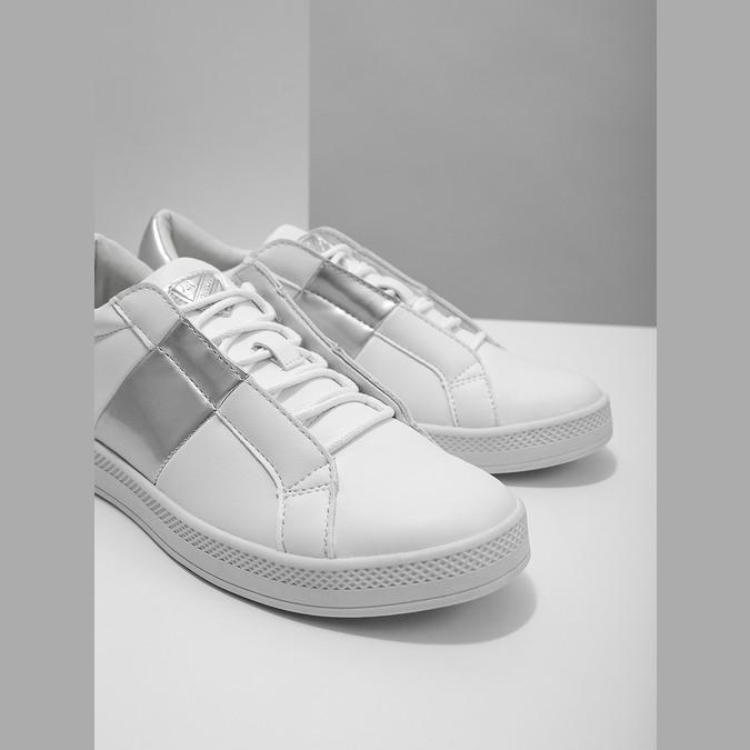 Dámske biele tenisky atletico, biela, 501-1171 - 14