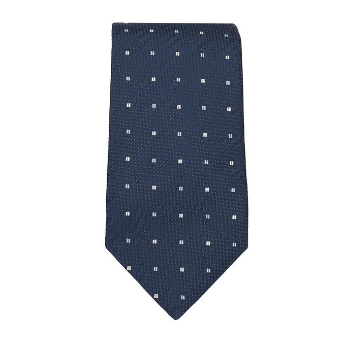 Pánska sada kravaty a vreckovky n-ties, modrá, 999-9294 - 26