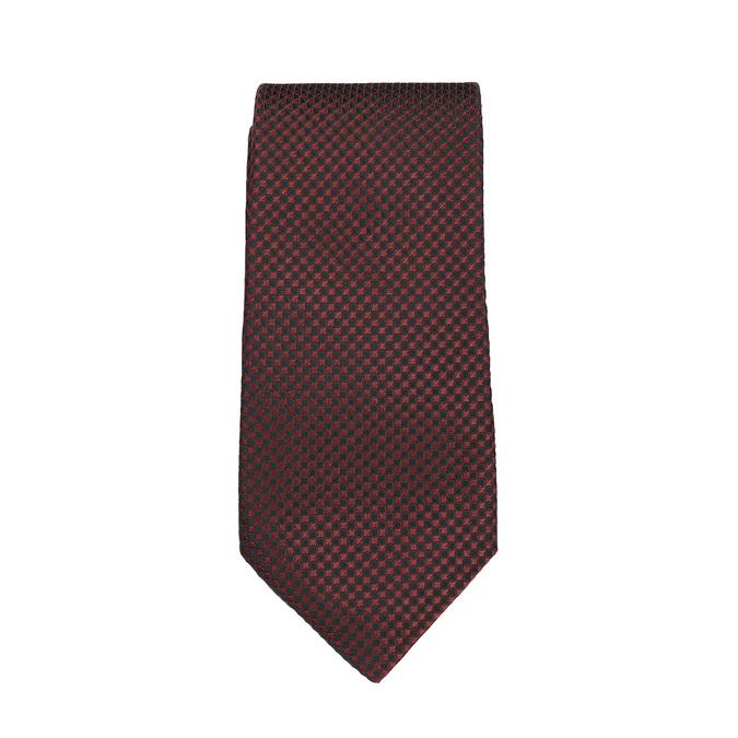 Sada kravaty a vreckovky so vzorom n-ties, červená, 999-5292 - 26
