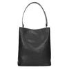 Čierna kabelka s odnímateľným popruhom bata, čierna, 961-2173 - 26