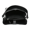 Čierna kabelka s odnímateľným popruhom bata, čierna, 961-2173 - 15