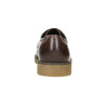 Hnedé kožené poltopánky bata, hnedá, 826-4620 - 17