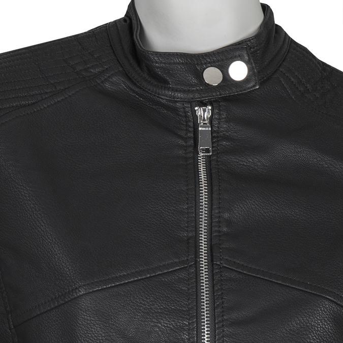 Koženková dámska bunda bata, čierna, 971-6203 - 16