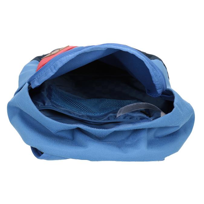 Modrý batoh s červeným vreckom vans, modrá, 969-9095 - 15