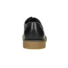 Pánske kožené Derby poltopánky bata, čierna, 826-6620 - 17