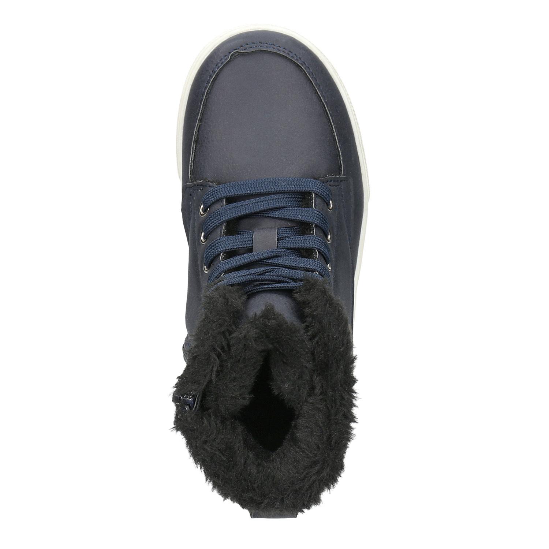 e882bedc2d5df ... Detská obuv so zateplením mini-b, modrá, 491-9652 - 26 ...