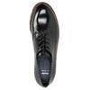 Kožené poltopánky na výraznej podrážke bata, čierna, 526-6642 - 26