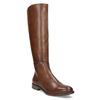 Hnedé kožené čižmy bata, hnedá, 594-4637 - 13