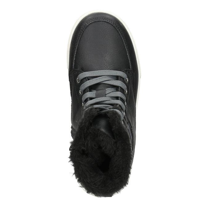 Zimná detská obuv mini-b, čierna, 491-6652 - 26
