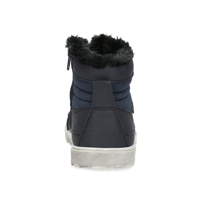 Detská obuv so zateplením mini-b, modrá, 491-9652 - 15