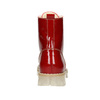 Dámska lakovaná obuv s masívnou podrážkou weinbrenner, červená, 598-5604 - 16