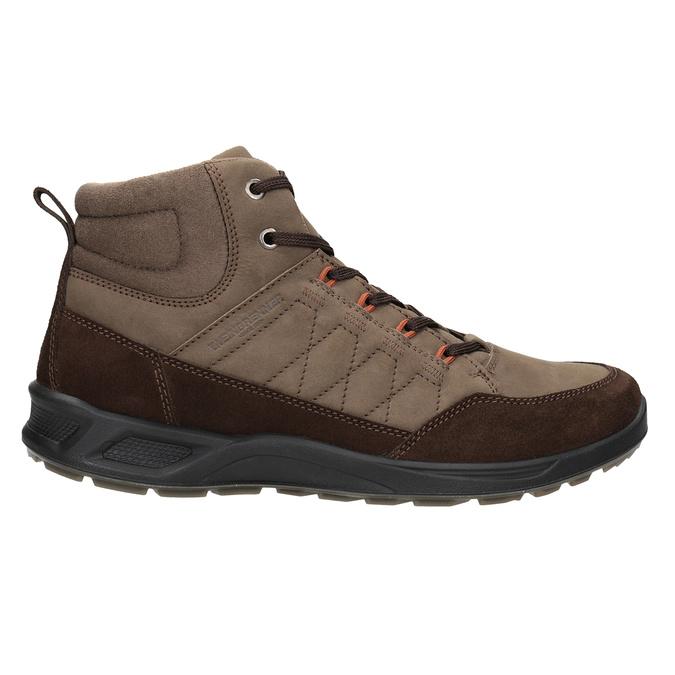 Kožená pánska obuv weinbrenner, hnedá, 846-4647 - 26