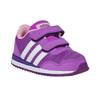 Detské fialové tenisky adidas, fialová, 109-5157 - 13
