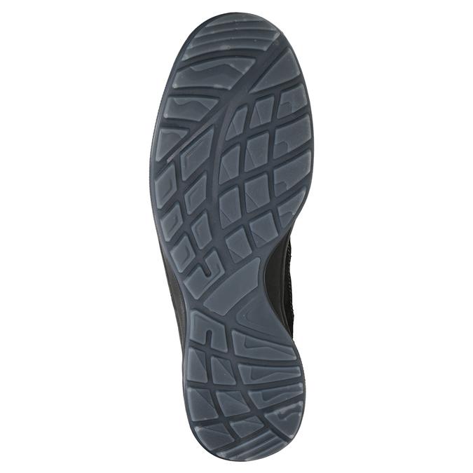 Pánska kožená Outdoor obuv weinbrenner, šedá, 846-2647 - 17