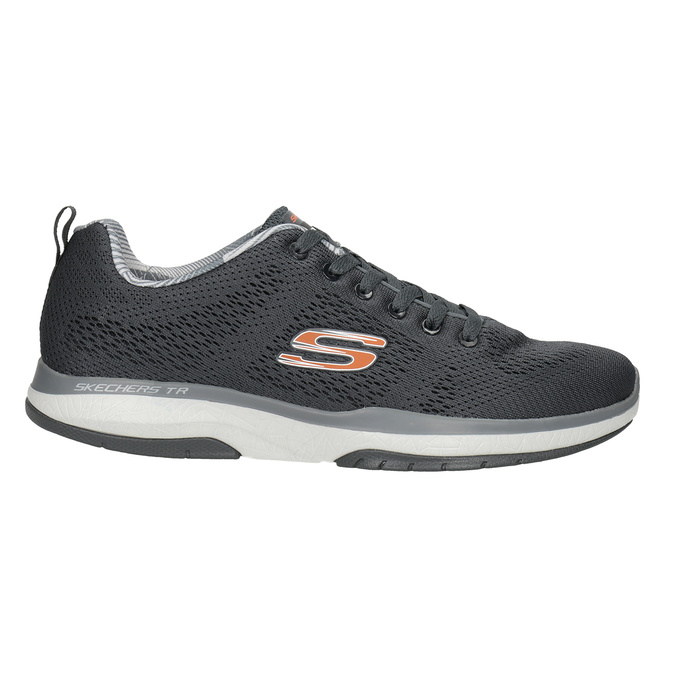 Šedé športové tenisky skechers, šedá, 809-2330 - 26
