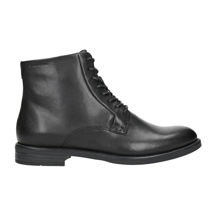 Kožená členková dámska obuv vagabond, čierna, 524-6010 - 26