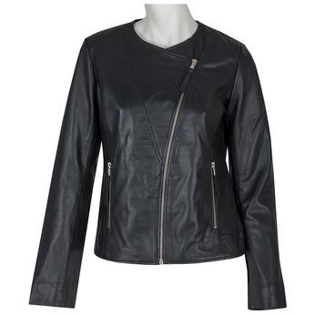 Dámska kožená bunda bata, čierna, 974-6177 - 13