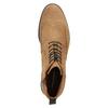 Kožená pánska členková obuv vagabond, hnedá, 823-3016 - 15