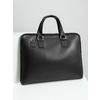 Kožená taška s odnímateľným popruhom bata, čierna, 964-6223 - 18