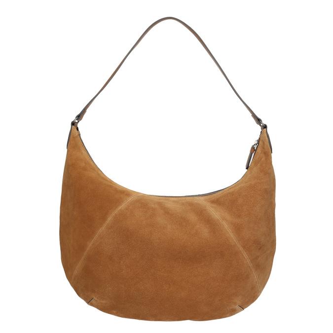 Hnedá kožená kabelka bata, hnedá, 964-4275 - 16