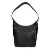 Čierna kožená kabelka bata, čierna, 964-6274 - 26