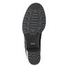 Kožené dámske čižmy bata, čierna, 696-6649 - 19