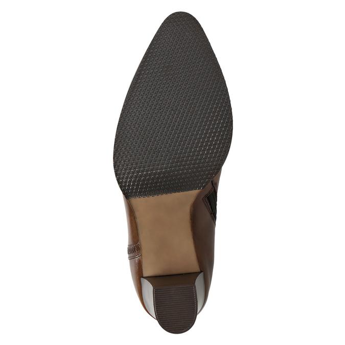 Kožená členková obuv bata, hnedá, 794-4650 - 17