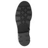 Kožené čižmy s masívnou podrážkou bata, šedá, 596-9662 - 17