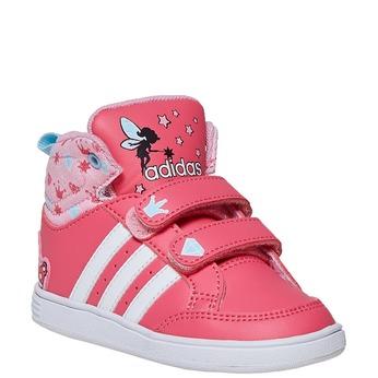 Dievčenské členkové tenisky adidas, ružová, 101-5292 - 13