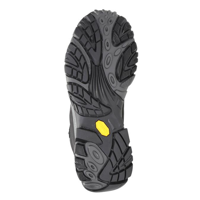 Kožená členková obuv v Outdoor štýle merrell, čierna, 806-6569 - 17