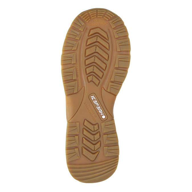 Detská zimná obuv na suchý zips icepeak, hnedá, 399-3018 - 17