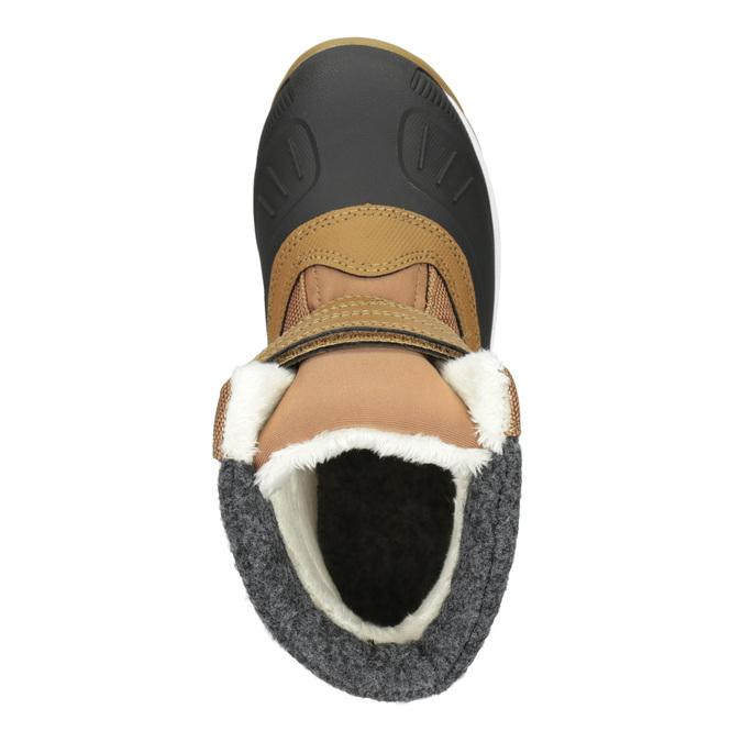 Detská zimná obuv na suchý zips icepeak, hnedá, 399-3018 - 15