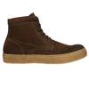 Hnedá kožená členková obuv bata, hnedá, 843-3632 - 15
