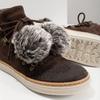 Kožená členková obuv weinbrenner, hnedá, 596-4674 - 14