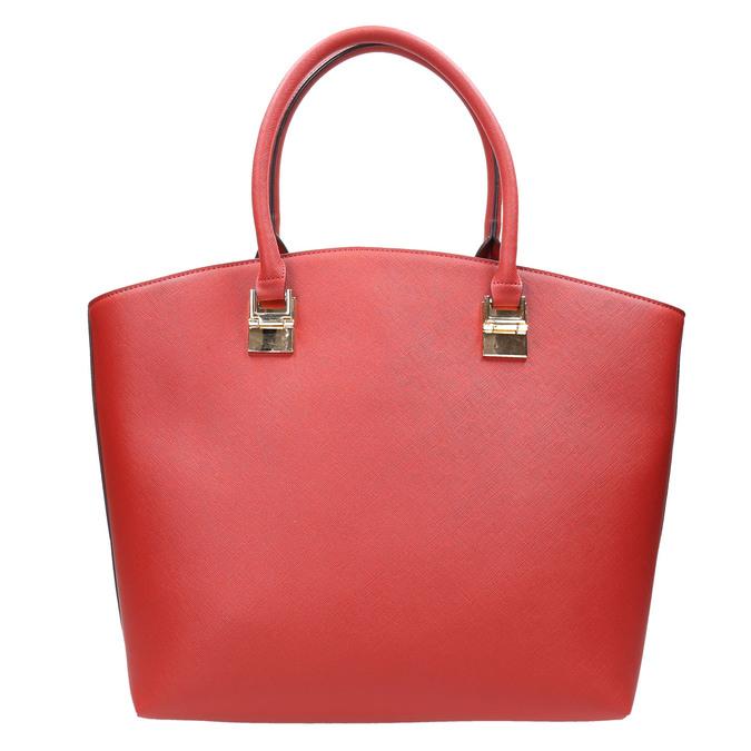 Dámska červená kabelka bata, červená, 961-5821 - 17