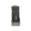 Pánska kožená obuv s výraznou podrážkou weinbrenner, šedá, 896-2702 - 16