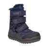 Dievčenská zimná obuv na suchý zips mini-b, modrá, 299-9613 - 13