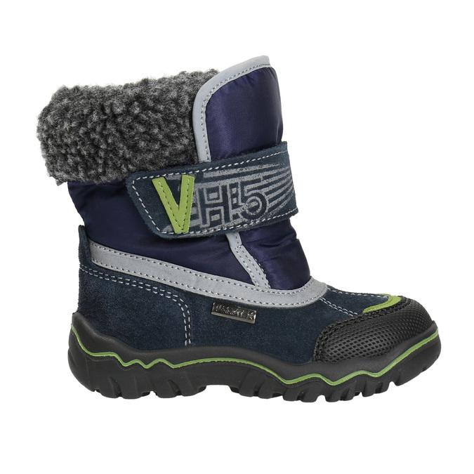 Zimná detská obuv bubblegummers, modrá, 193-9601 - 15