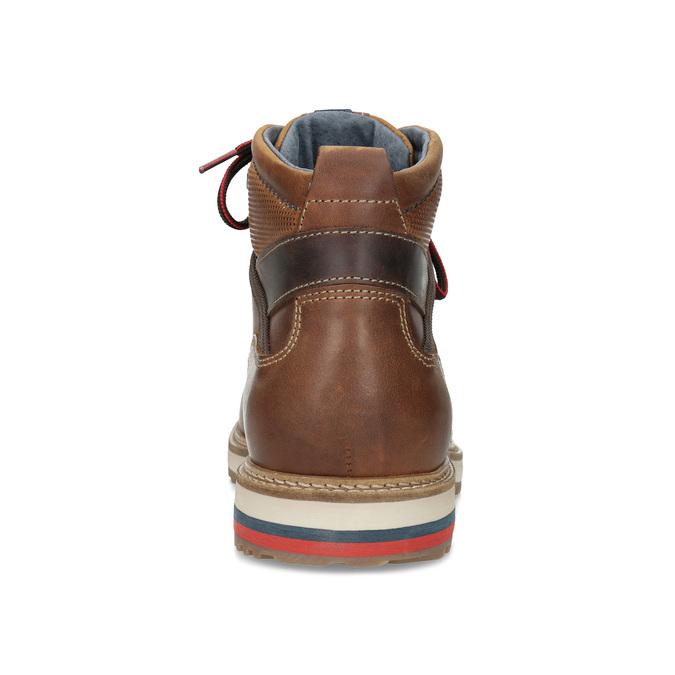 Členková pánska zimná obuv bata, hnedá, 896-3677 - 15