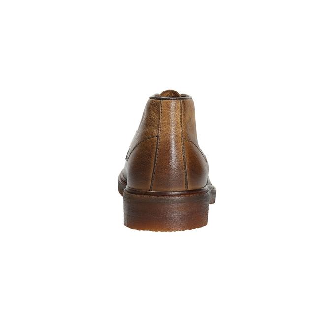 Pánske kožené Chukka Boots bata, hnedá, 826-2919 - 16
