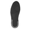 Kožené pánske členkové tenisky bata, čierna, 844-6644 - 17