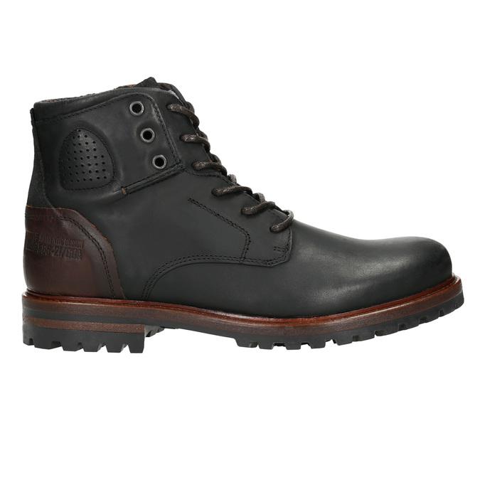 Pánska členková obuv bata, čierna, 896-6665 - 15