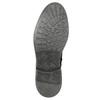 Kožená zimná členková obuv bata, čierna, 896-6685 - 19