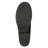 Členková obuv s kožúškom bata, čierna, 591-6618 - 19