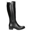 Dámske kožené čižmy bata, čierna, 594-6586 - 15