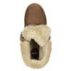 Členková obuv s kožúškom bata, hnedá, 591-4618 - 26