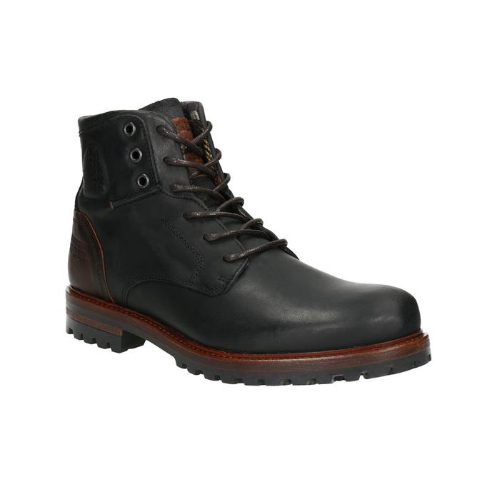 Pánska členková obuv bata, čierna, 896-6665 - 13