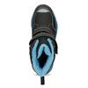 Detská zimná obuv na suchý zips mini-b, čierna, 491-6653 - 17