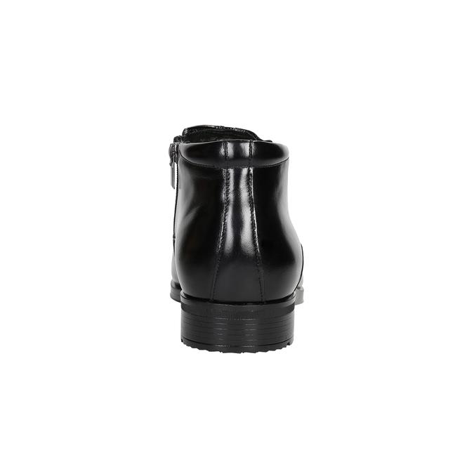 Pánska členková obuv so zateplením conhpol, čierna, 894-6698 - 16